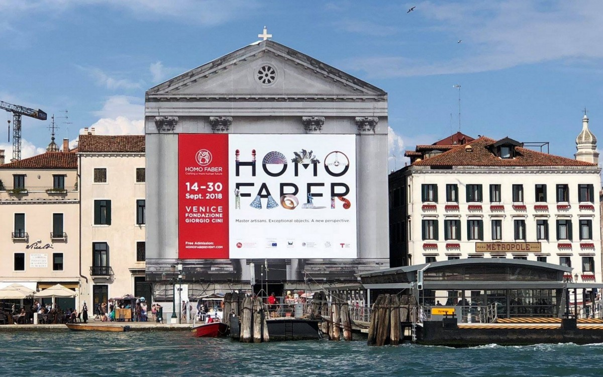 Pestelli at Homo Faber exhibition in Venice
