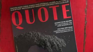 Pestelli sulla rivista olandese Quote