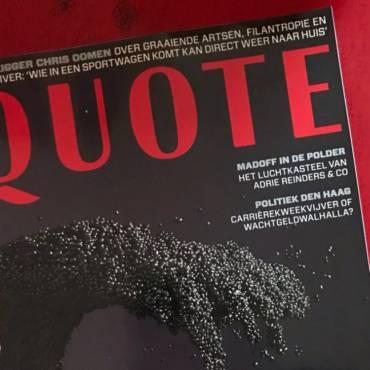 Pestelli on Quote Magazine