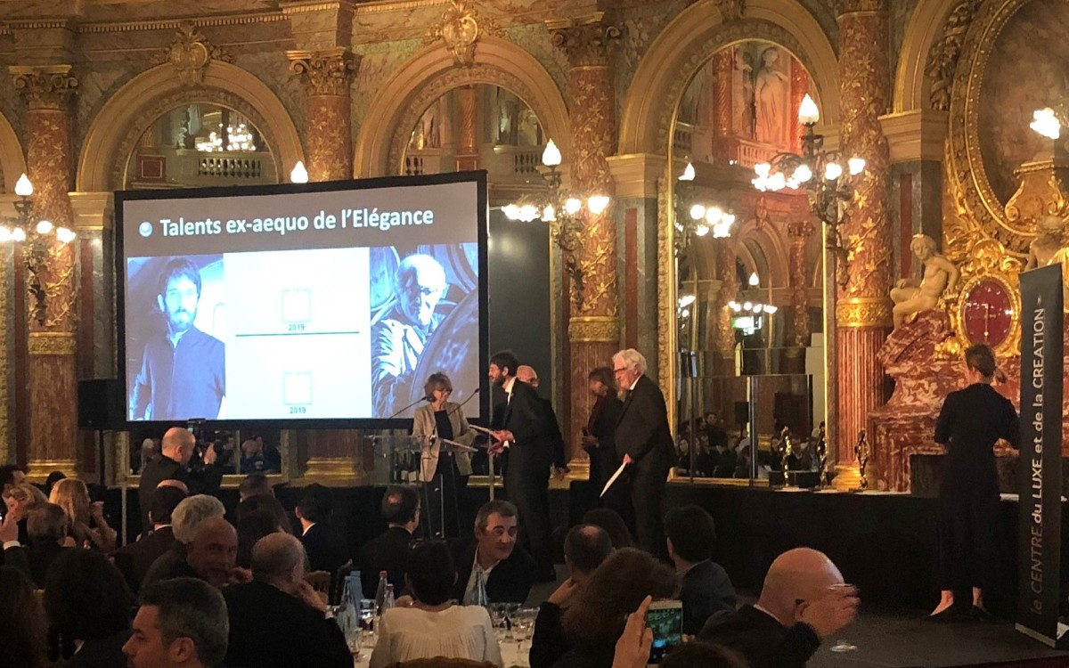 "Pestelli wins the award ""Talents du Luxe et de la Création"""