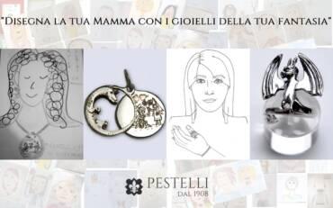 """Gioielli contest """"Disegna la tua mamma"""""""
