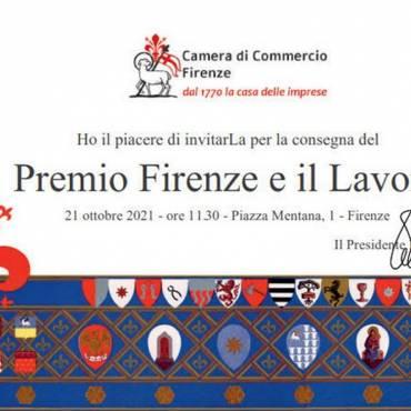 Premio Firenze e il Lavoro